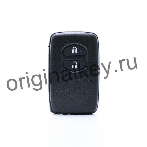 Ключ для Toyota Aqua 2011-, Corolla Axio/Fielder 2012-, IQ 2013-, Prius 2009-, Prius A 2011-, Ractis 2010-, Vitz 2010-, Wish 2009-