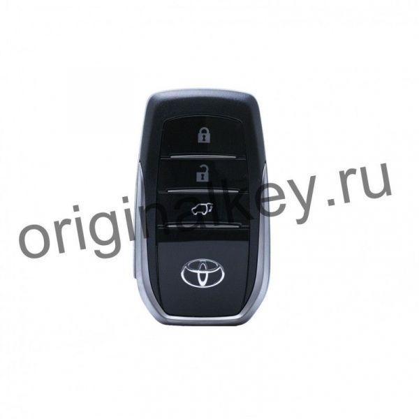 Kлюч для Toyota Land Cruiser 200 2019-, MDL B2Z2K2P