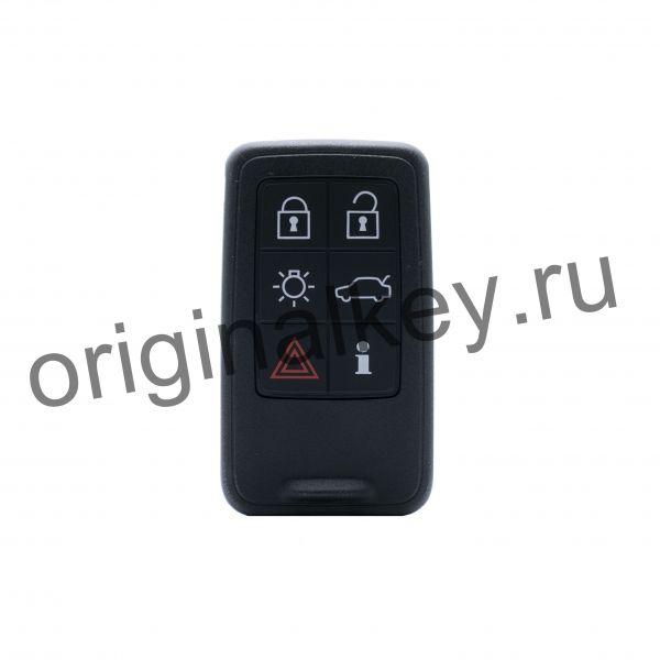 Ключ для V40 2013-, S60 2009-, V60 2009-, XC60 2009-2017, V70 2008-, XC70 2008-, S80 2007-2016, 433 Mhz, Keyless Go