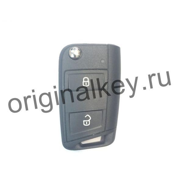 Ключ для Volkswagen Crafter 2016-, Megamos AES