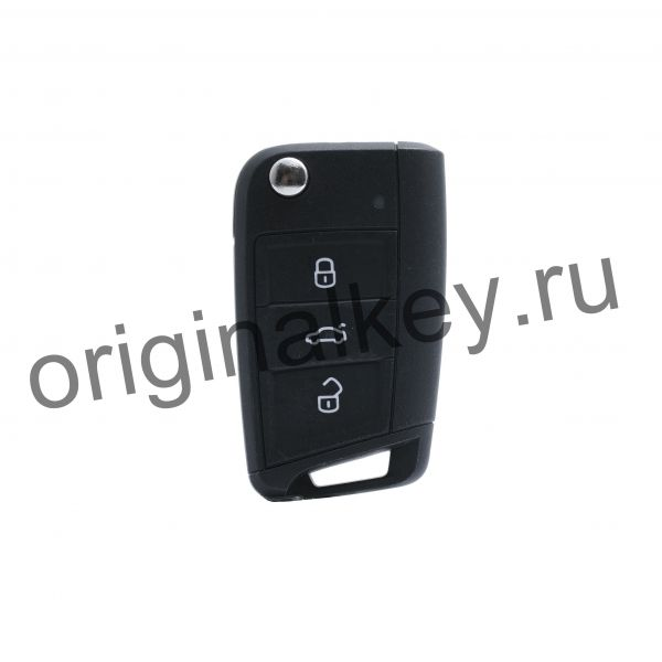Ключ для Volkswagen Tiguan 2016-, Touran 2015-, Crafter 2017-, Megamos AES