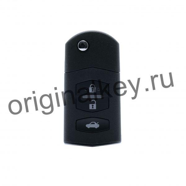 Ключ Mazda 6 2007-2013, Mazda 3 2008-2013, Mazda 2 с 2009, Mazda MX-5 с 2005 года