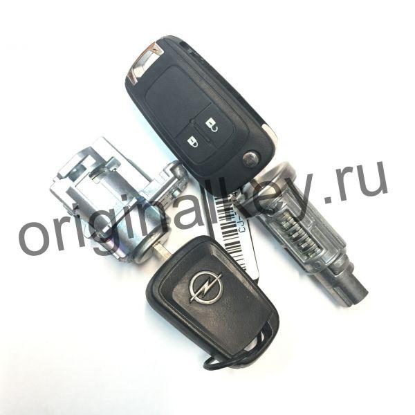Комплект замков с ключами для Opel Astra J с 2010, Opel Zafira C с 2012 года
