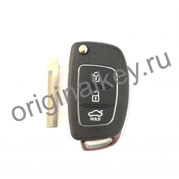 Корпус ключа для Hyundai TYPE 1. Профиль HYN17