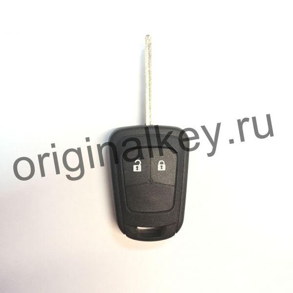 Корпус ключа для автомобилей Opel, Chevrolet двухкнопочный