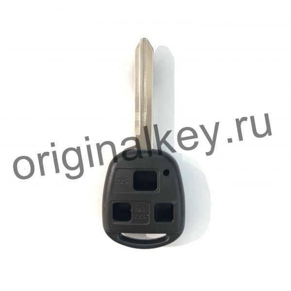 Корпус ключа для Toyota Avensis 2003-2008. 3 кнопки
