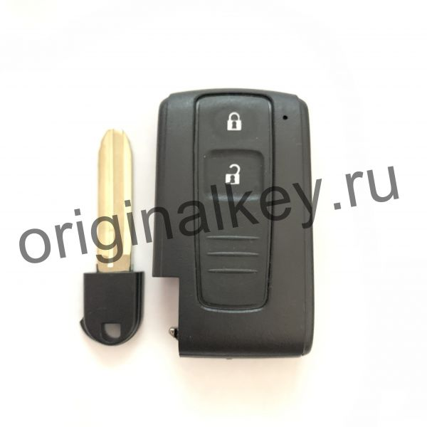 Корпус ключа для Toyota Prius 2003-2009, Corolla Verso 2004-2009