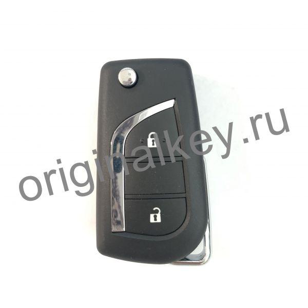 Корпус выкидного ключа Toyota 2-х кнопочный. VA2