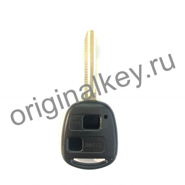 Корпус ключа для Toyota 2-х кнопочный. Toy43