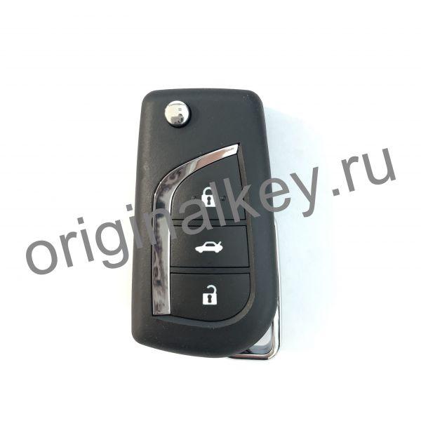 Корпус выкидного ключа Toyota 3-х кнопочный. VA2