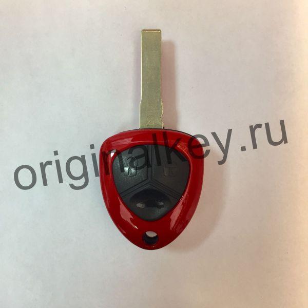 Корпус ключа с местом под чип для Ferrari.