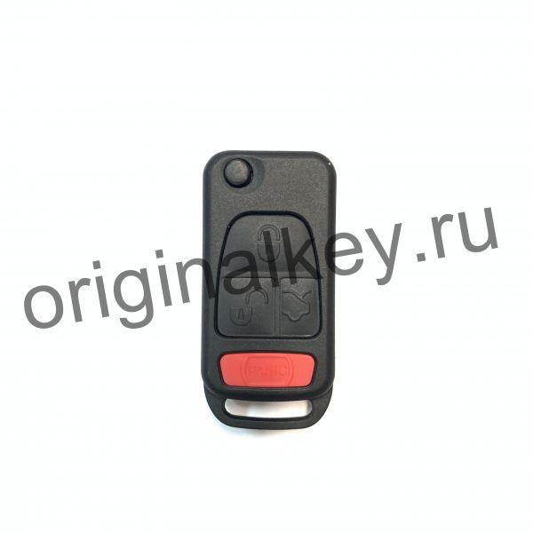Корпус выкидного ключа для Mercedes. 4 кнопки