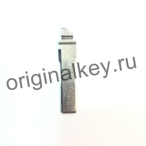 Металлическая вставка для ключа Volkswagen Golf VII, Skoda Octavia (A7), Rapid