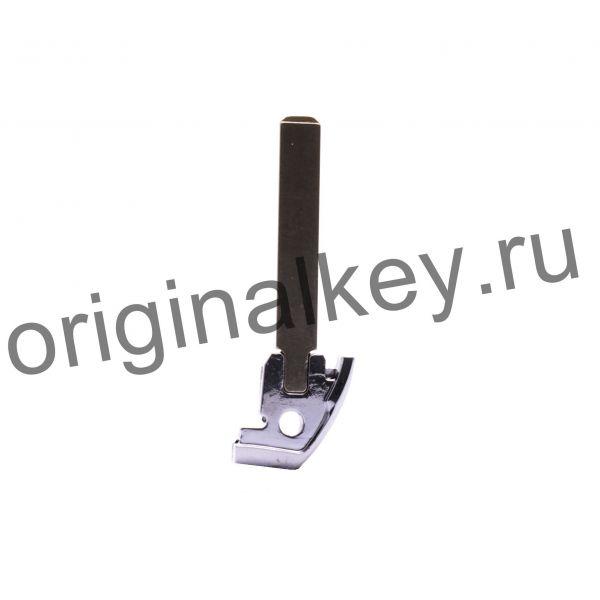 Металлическая вставка для смарт ключа Pegeuot/Citroen
