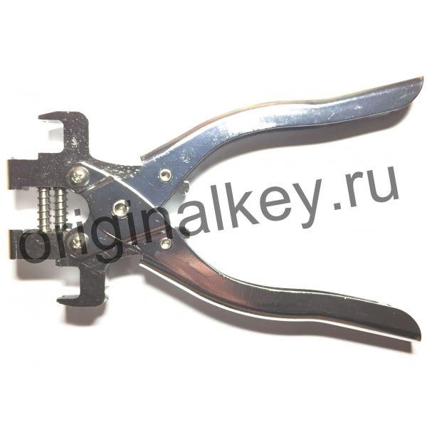 Инструмент для снятия лезвий с выкидных ключей
