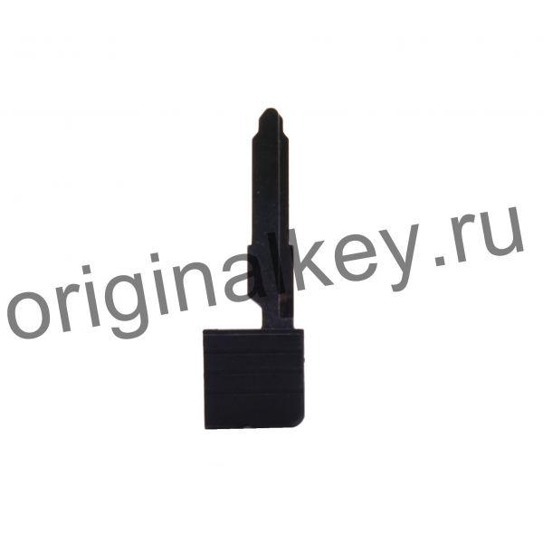 Оригинальная заготовка смарт ключа Mazda с чипом 4D63x80