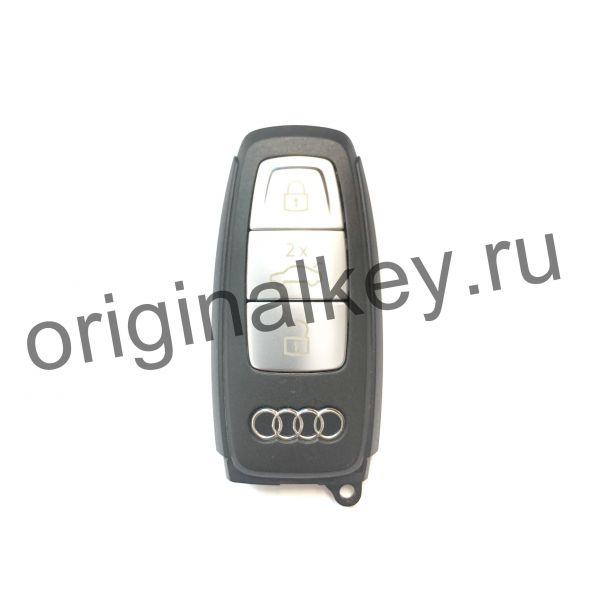 Смарт ключ для Audi Q8 black