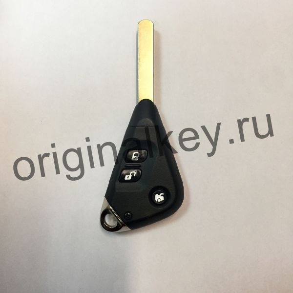 Трехкнопочный ключ Subaru с жалом