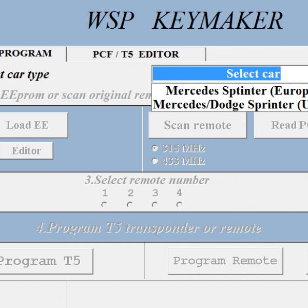 WSP keymaker