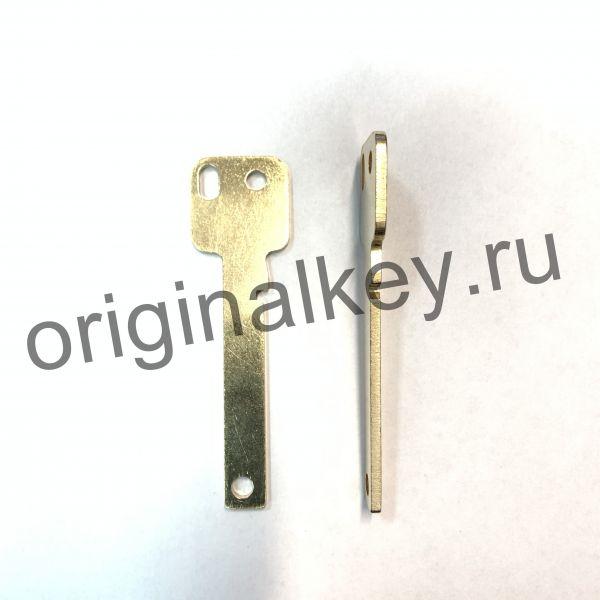 Заготовка ключа для станка X-KEY Terminator. 2,45 мм.
