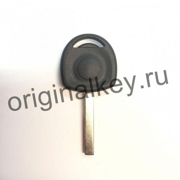 Заготовка ключа с местом под чип для автомобилей Chevrolet, Opel