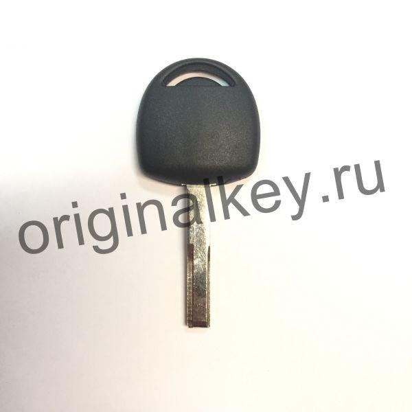 Заготовка ключа Opel с местом под чип. HU43