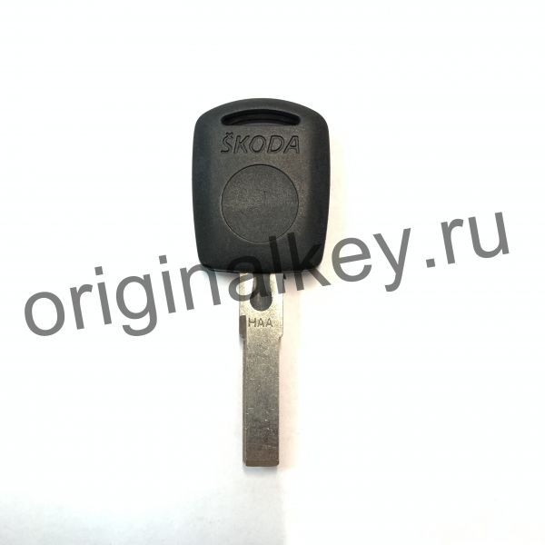 Заготовка ключа с местом под чип
