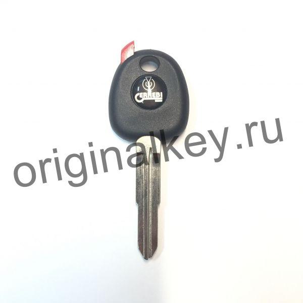 Заготовка ключа с местом под чип. ERREBI SSA2P