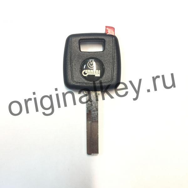 Заготовка ключа Volvo c местом под чип.HU-DH
