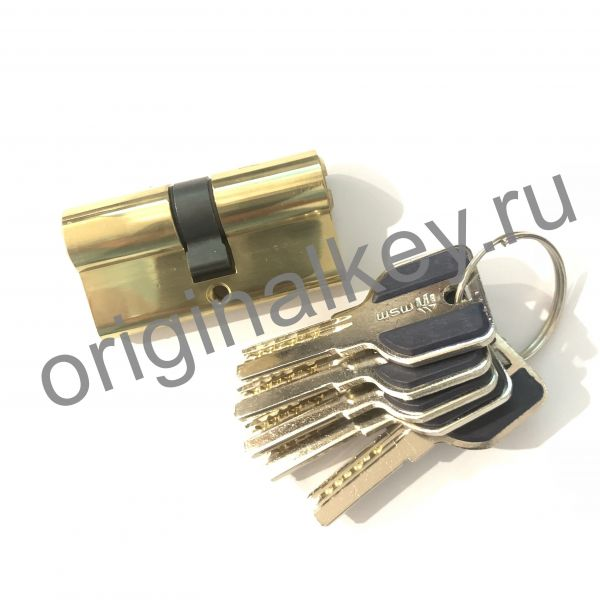 Циллиндр MSM 30x30 mm ключ-ключ