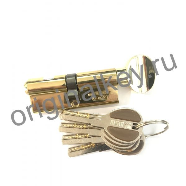 Циллиндр MSM 40x40 mm ключ-вертушка