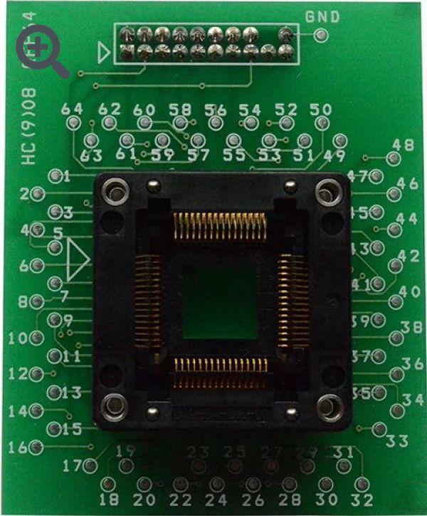 Адаптер для MC68HC(9)08 QFP64