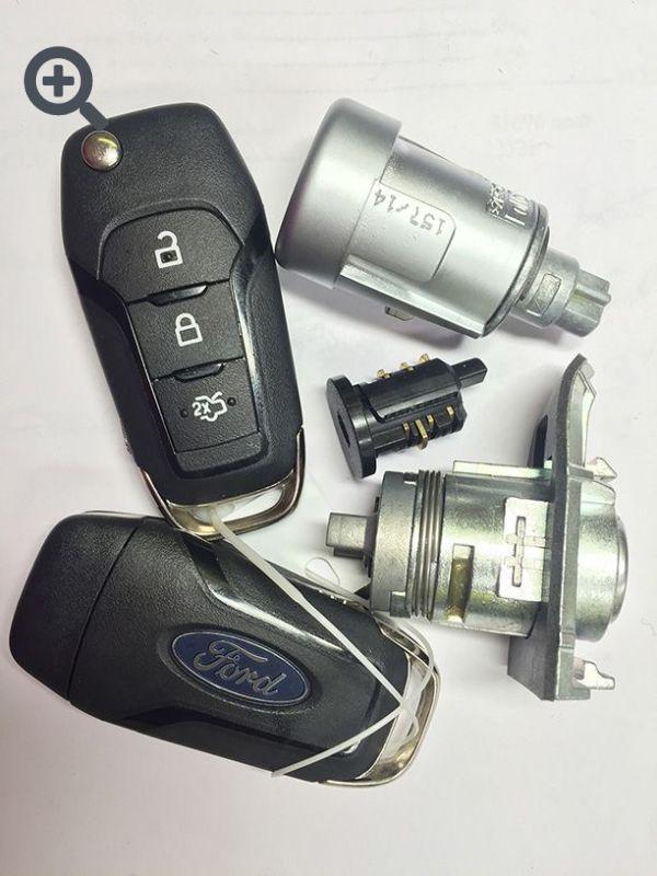 Комплект замков и ключей для Ford Mondeo V с 2014 г.