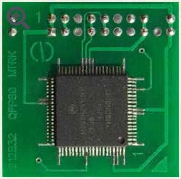 Переходник для 912B32,BC32,BE32 QFP80