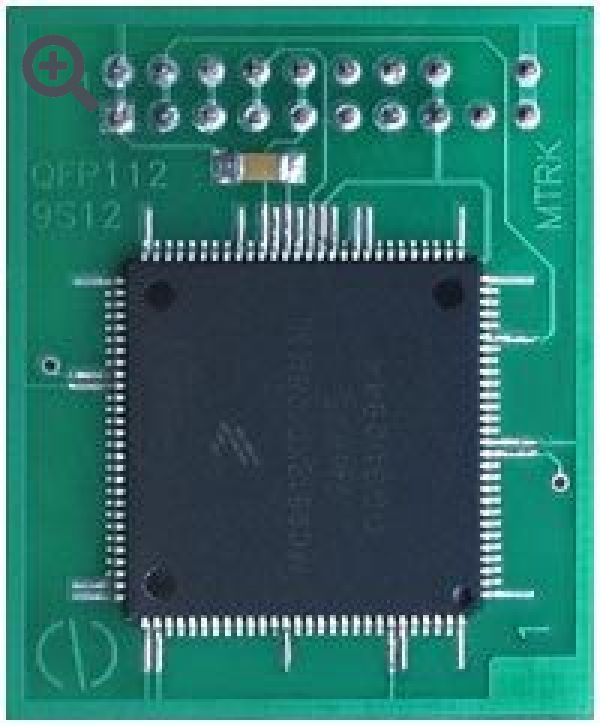 Переходник 9S12Dxxx QFP80,QFP112