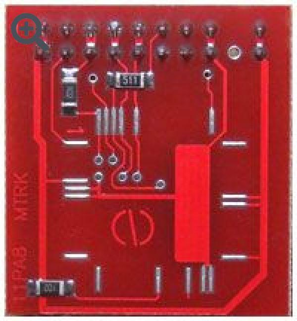 Переходник PA8/E9/E20 QFP64