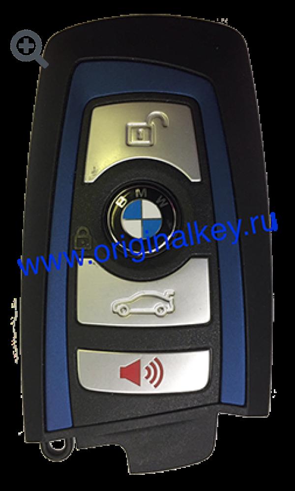 Ключ для BMW F-кузовов EWS4/5(CAS4/4+), 434MHz