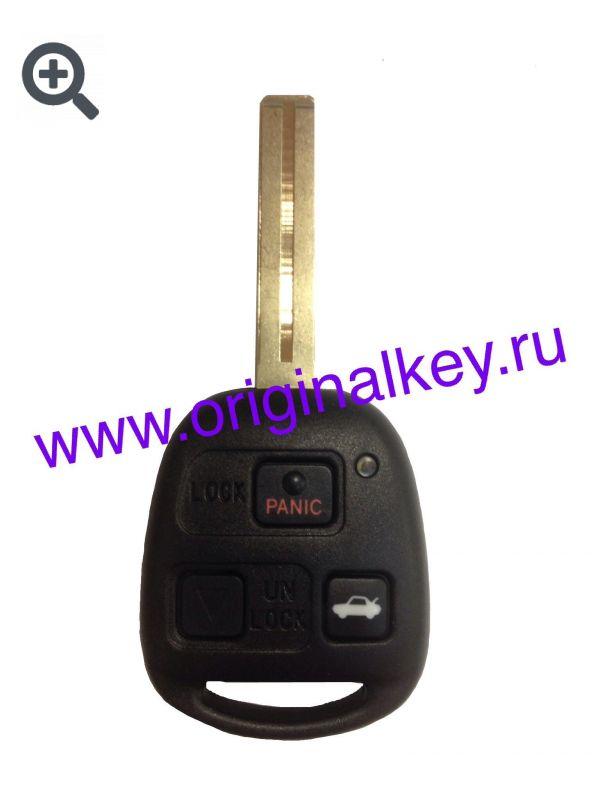 Ключ для Lexus ES300(MCV20), Lexus LS400(USF20) 1997-2000, Lexus GS300/400/430(JZS160) 1997-2005