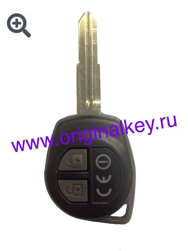 Ключ для Suzuki Ignis 2004-2008, Jimny 2005-2012, 433Mhz
