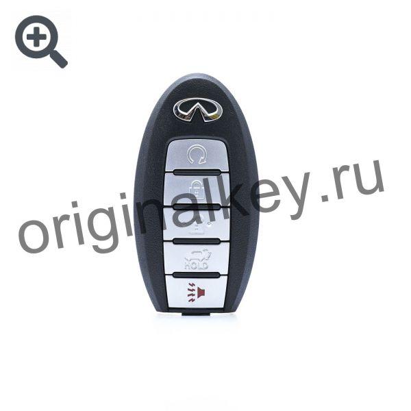 Ключ для Infiniti JX35 (L50) с 2012 года, с автозапуском