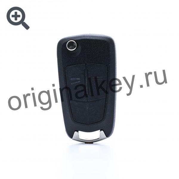 Ключ для Tigra B до 2004, Meriva A 2003-2010, Combo 2002-2008, Corsa C 2001-2007, ID40, 433Mhz