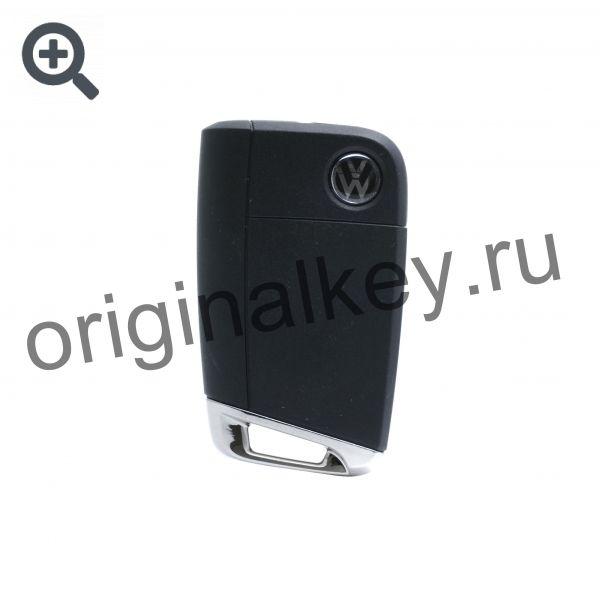 Ключ для Volkswagen Golf VII 2012-, Megamos AES, 315 Mhz