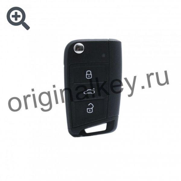 Ключ для Volkswagen Tiguan 2019-