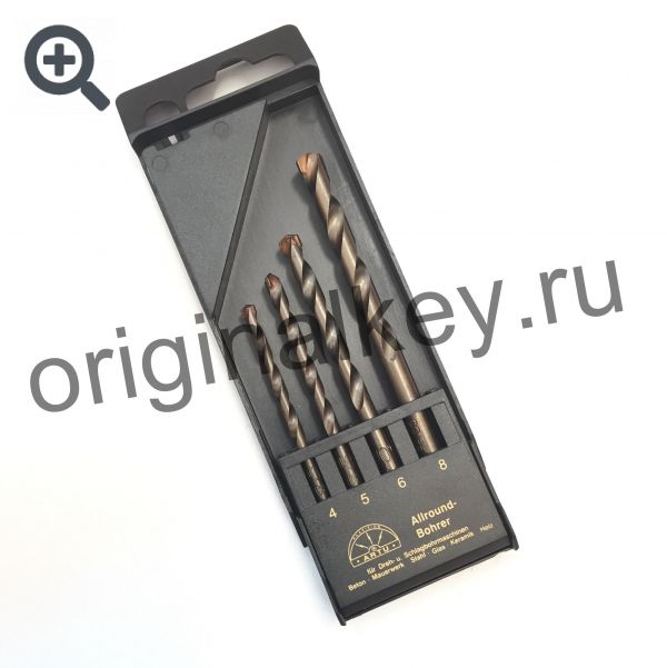 Комплект твердосплавных сверл Artu PL-01385