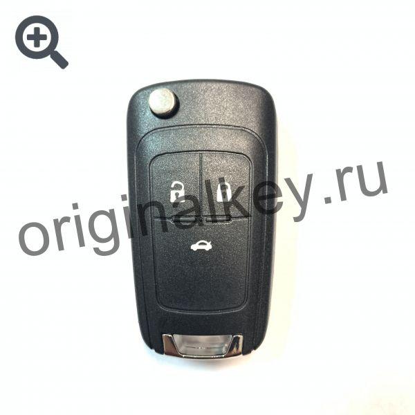 Корпус выкидного ключа для Opel, Chevrolet. Профиль HU100. 3 кнопки
