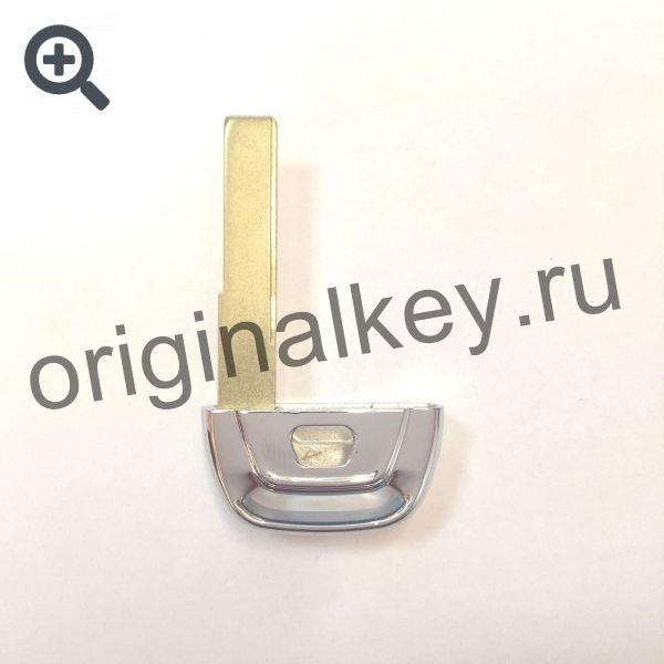 Металлическая ключ-вставка для смарт ключей Audi
