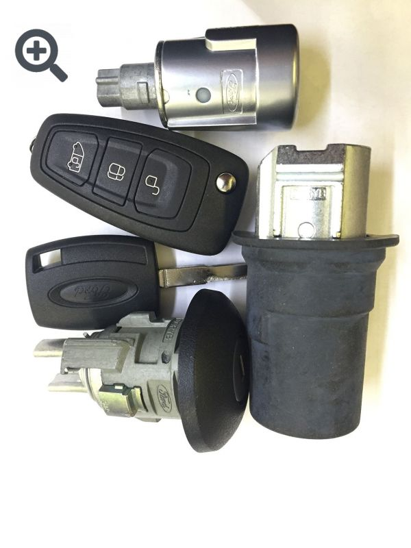 Комплект замков с ключами для Ford Transit 2014-