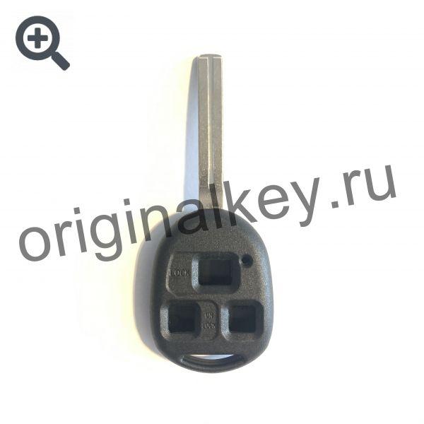 Усиленный корпус ключа для Toyota, Lexus. 3-х кнопочный. Toy48